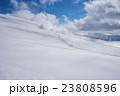 シュプール 足跡 旭岳の写真 23808596