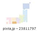 日本地図 日本 地図のイラスト 23811797