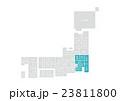 日本地図 日本 地図のイラスト 23811800