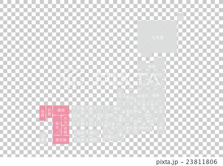 日本地図 23811806