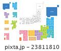 日本地図 23811810