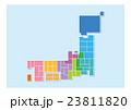日本地図 23811820