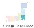 日本地図 日本 地図のイラスト 23811822