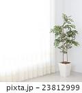 リビングルーム リビング カーテンの写真 23812999