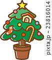 クリスマスツリー クリスマス 行事のイラスト 23816014