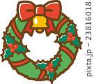 クリスマスリース 23816018