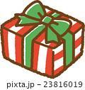 プレゼント ラッピング クリスマスのイラスト 23816019