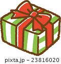 プレゼント ラッピング クリスマスのイラスト 23816020