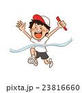 運動会 男の子 リレーのイラスト 23816660