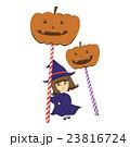 かぼちゃと女の子 23816724