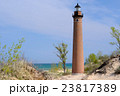 Little Sable Point Lighthouse in dunes 23817389