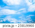 真夏の空 梅雨明けの空 雲 コピースペース 広いコピースペース 汎用的な空 23819960