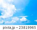 真夏の空 梅雨明けの空 雲 コピースペース 広いコピースペース 汎用的な空 23819965