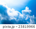 真夏の空 梅雨明けの空 雲 コピースペース 広いコピースペース 汎用的な空 23819966