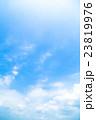 真夏の空 梅雨明けの空 雲 コピースペース 広いコピースペース 汎用的な空 23819976