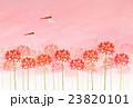 彼岸花と赤トンボ 23820101