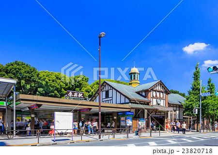 原宿駅 表参道口 駅前の風景 23820718