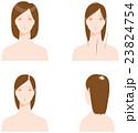 髪の悩み 薄毛 23824754