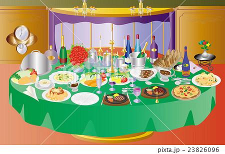 ある日の俺の晩餐洋 23826096