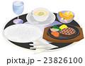 今日のご飯ステーキ 23826100