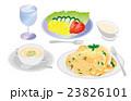 今日のご飯スパゲティー 23826101