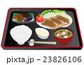 ベクター 生姜焼き 定食のイラスト 23826106