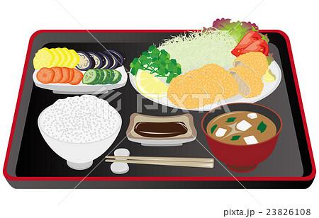 今日のご飯豚カツ定食 23826108