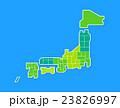 日本地図 23826997
