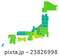 日本地図 23826998