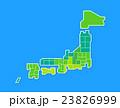 日本地図 23826999