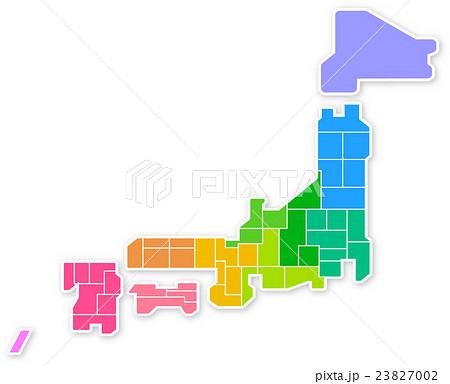日本地図 23827002