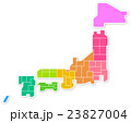 日本地図 23827004