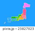 日本地図 23827023