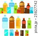 ペットボトル飲料と缶飲料のイラストセット 23827742