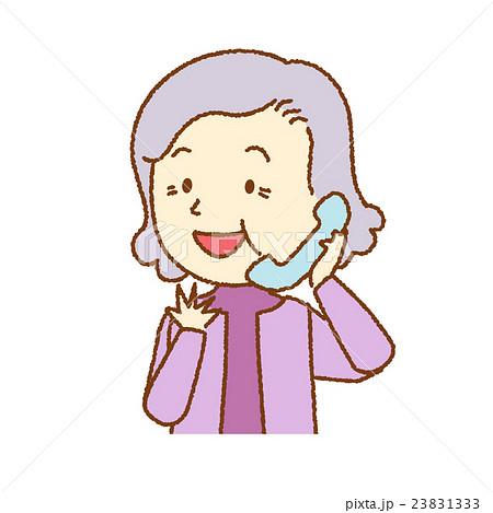 人物 電話する女性 23831333