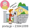 地震後の近所への声かけ 23841099