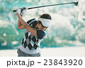 Japanese woman golfer , housewife 23843920