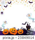 ハロウィン ジャックオーランタン おばけのイラスト 23849014