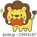 ライオン 肉 肉食動物のイラスト 23854187