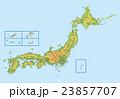 日本地図 23857707