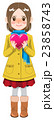 人物 女性 女の子のイラスト 23858743