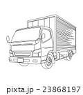 トラック 車 イラスト 23868197