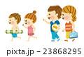 家族 水着 夏のイラスト 23868295