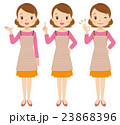 主婦 女性 表情のイラスト 23868396