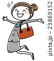 ジャンプ 嬉しい ベクターのイラスト 23869152