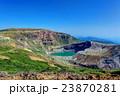 蔵王 お釜 火口湖の写真 23870281