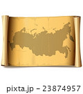 Vector Paper Scroll with Russia 23874957