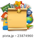Vector School Paper Scroll 23874960