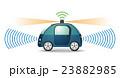 自動運転 車 ドライバーレスのイラスト 23882985