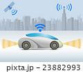 自動運転コンセプトカーと都市 23882993